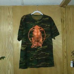 CHRIS STAPLETON Camo Shirt
